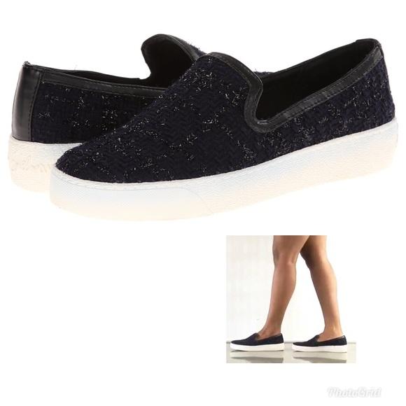 eecb89879 Sam Edelman Becker Navy Blck Slip on Shoes